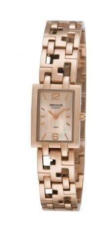 Relógio Seculus Feminino 48075lpstra2 Frete Grátis