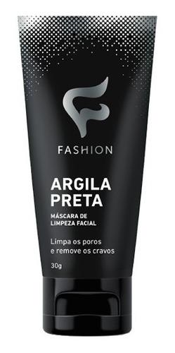 12 Máscara Argila Preta Limpeza Facial Remove Cravos Fashion