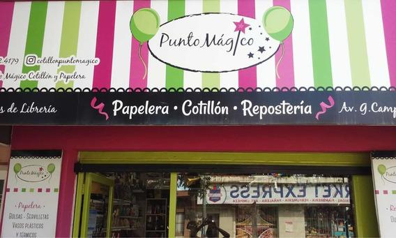 Papelera, Librería, Cotillón, Repostería (conversable)