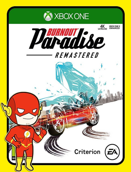 Burnout Paradise Remastered Xbox One - 25 Díg (envio Flash)