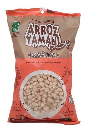 Imagen 1 de 5 de Arroz Yamani Pop Yin Yang Organico S/tacc 80gr