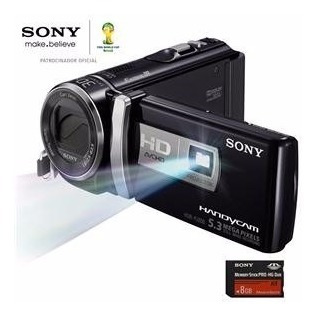 Filmadora Sony Full Hd Hdr-pj200 Lcd 2,7 Projetor Integrado