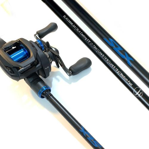 Imagen 1 de 9 de Combo Pesca Tararira Baitcasting Shimano Slx Dc + Caña Slx