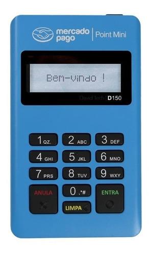 Imagem 1 de 3 de Máquina De Cartão Débito E Crédito Point Mini - Mercado Pago