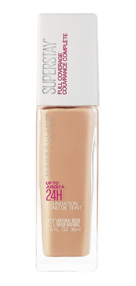 Base Ss Full Coverage Tono Natural Beige 220 Maybelline