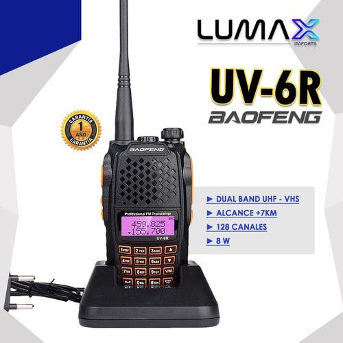 Radio Motorola Baofeng Uv-6r Homologado/taxi (2021)
