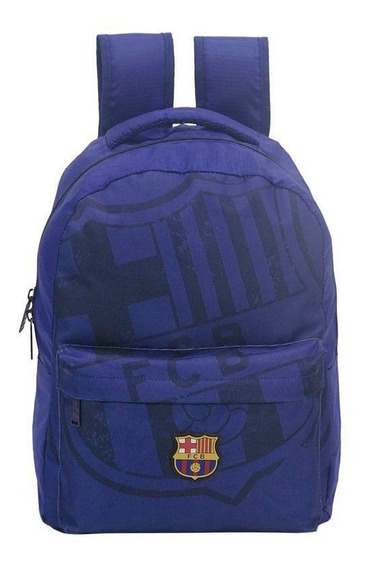 Mochila Barcelona Infantil Escudo Azul