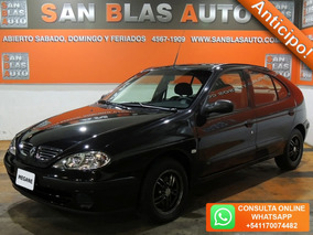 Sba Anticipo! Renault Megane Bic 1.6 Pack Plus Dh Aa 5p 2009