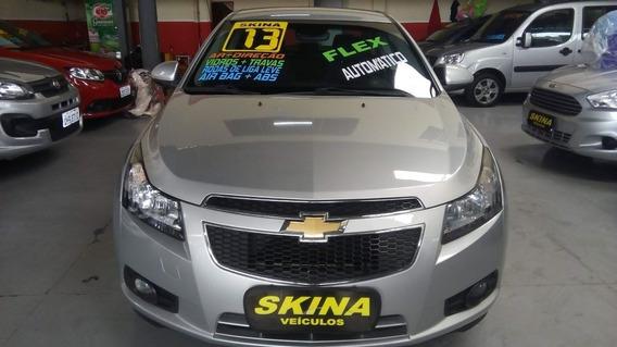 Chevrolet Cruze 1.8 Flex Lt Sedan 2013 Prata R$ 43.990,00
