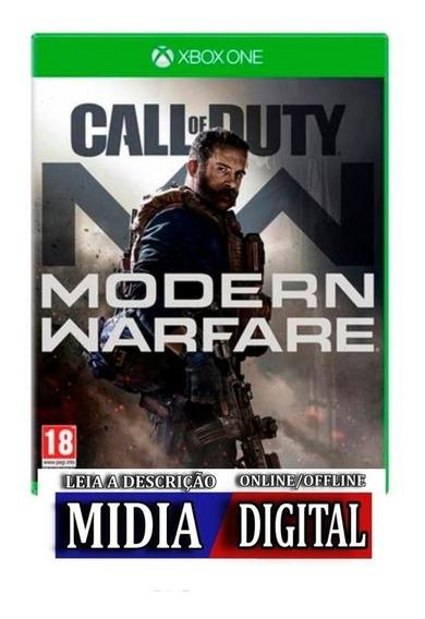 Call Of Duty®: Modern Warfare® Xbox One Mídia Digital