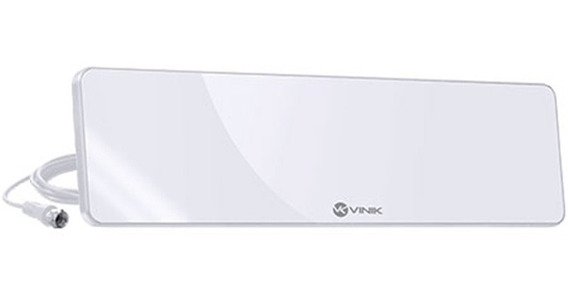 Antena Tv Digital Vinik Hds30w Vhf Uhf Ultra Slim Branca