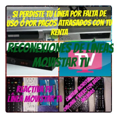 Reconexiones De Líneas Movistar Tv