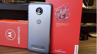 Moto Z2 Play Platinum 64gb