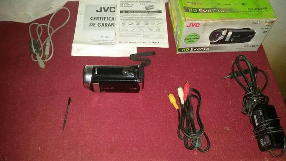 Filmadora Jvc Gz-ex210Full Hd Zoom Óptico 40×Lcd 3.0 Wifi