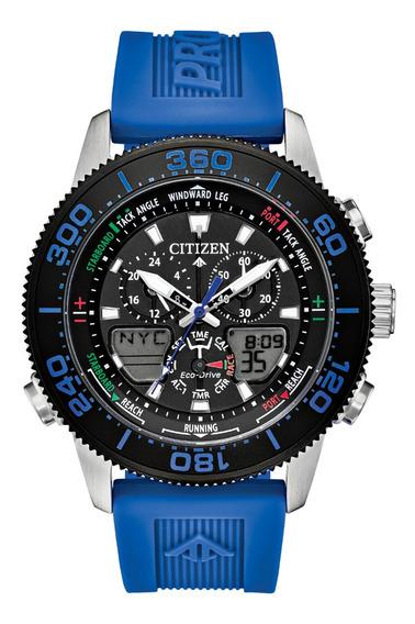 Relógio Citizen Jr4068-01e Sailhawk Marine Ediçao Limitada