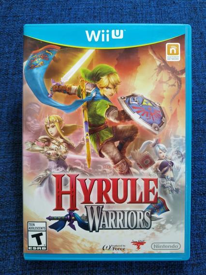 Hyrule Warriors Wii U Mídia Física Usado Completo