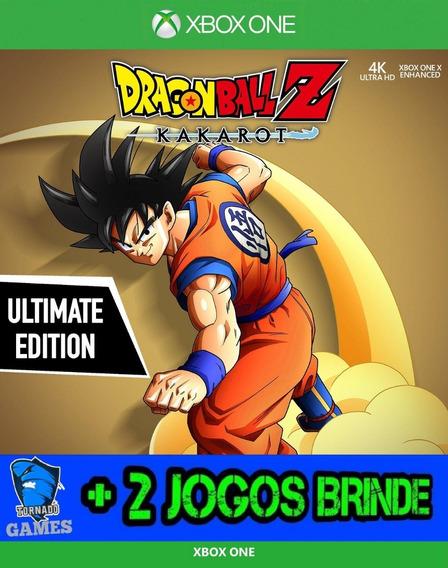 Dragon Ball Z Kakarot Ultimate - X Box One - M. Digital