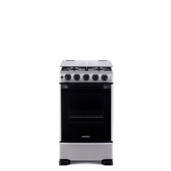 Cocina A Gas 50 Cm Inoxidable Patrick Cp9750i