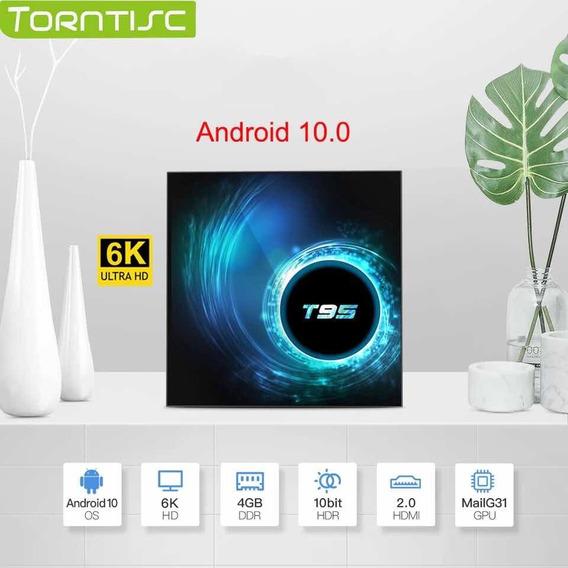 Tv Box T95 Ultra Hd 6k - Android 10 - 4 Gb Ram - 32 Gb Hd