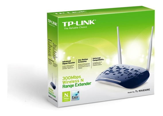Repetidor Extensor Access Point 300mbps Tplink Wa830re