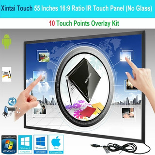 Marco Tactil 55 Pulgadas Multitouch Tv Magic Mirror Monitor