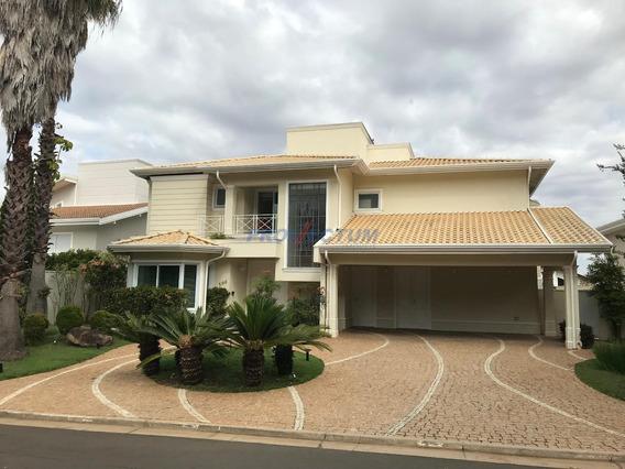 Casa À Venda Em Loteamento Alphaville Campinas - Ca243428