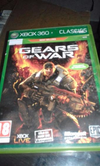 Xbox 360 Gears Of War Mídia Física Original Em Castelhano