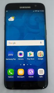 Samsung Galaxy S7 Edge G935f 32gb Original Vitrine Preto Burn-in