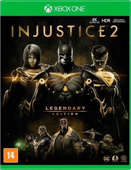 Injustice 2 Legendary Edition - Xbox One - Novo - Fisica
