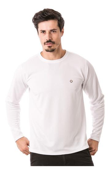 Camiseta Masculina Manga Longa Com Proteção Solar Extreme Uv