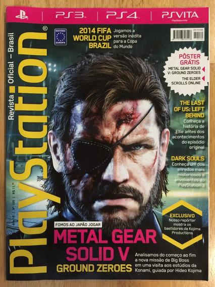 Revista Playstation Oficial Brasil Nº 189 C/ Pôster - Novo!!