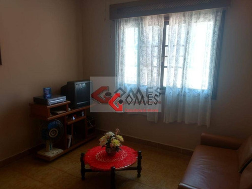 Casa Com 1 Dormitório À Venda, 50 M² Por R$ 260.000,00 - Caiçara - Praia Grande/sp - Ca0517