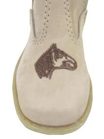 Botina Artepé Infantil Cavalo Crioulo Areia