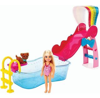 Barbie Chelsea Pool Piscina De Barbie Chelsea Juguete Niñas
