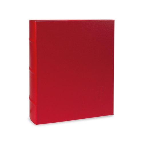 Álbum De Fotos 200f 10x15 Tradicional Vermelho  23 - Ical