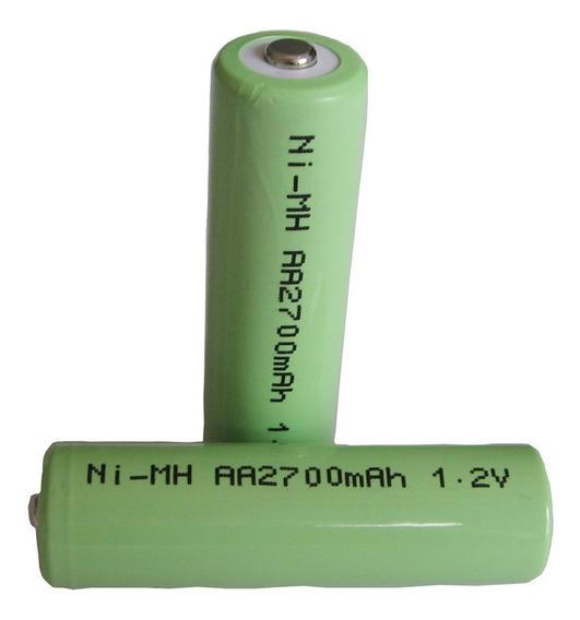 Bateria Aa 2700mah 1,2v Ni-mh Com Top