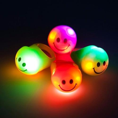 Anillos Luminosos Led Piñateria Hora Loca Fiestas Accesorios