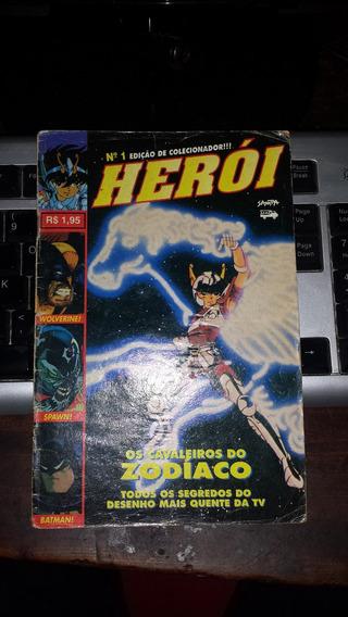 Revista -gibi- Herói - Coleção (1 A 49)- Faltam 4 Gibis