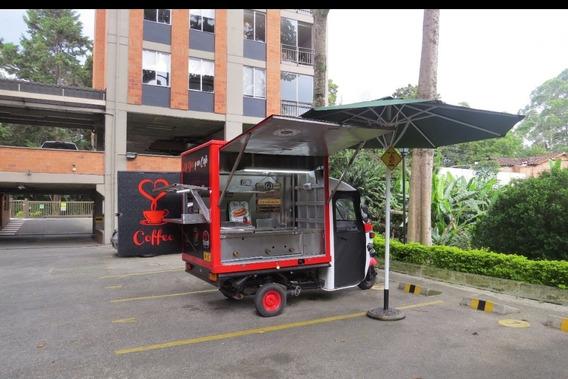 Motocarro De Comidas Rápidas Food Truck Trailer