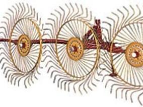 Rastrillo De Ganchos Cosechador De 4 Aros Marca Swissmex