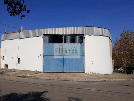 Barracão + Casa Comercial : Aparecidinha / Sorocaba - V15361