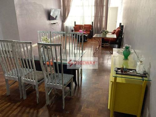 Imagem 1 de 20 de Excelente Apartamento 3 Dormitórios Na Consolação - Ap1842