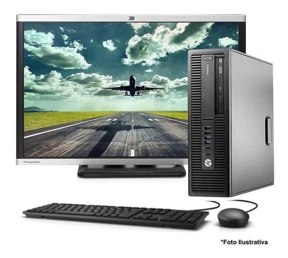 Computador Hp 800 G2 Core I5 6ªg 4gb Ssd 240gb + Monitor 22