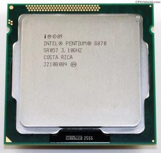 Processador Intel Pentium G870