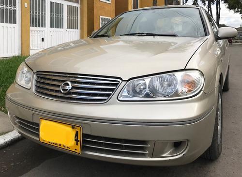 Nissan Almera 2007 Beige Excelente Estado 96000 Kms