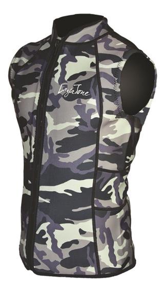 Camo Premium Wetsuits Top Jaet Vest Mens Mulheres Neoprene M