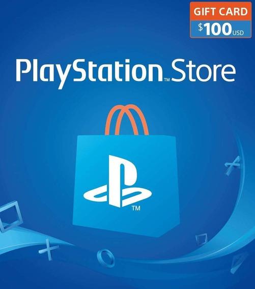 Tarjeta Psn Gift Card 100 Usd - Eeuu Ps4 - Valhalla Digital