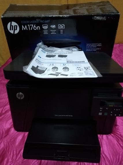 Impressora Multifuncional Hp Laserjet Pro Mfp M176n