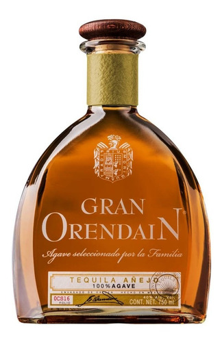 Tequila Gran Orendain Añejo 100% Agave