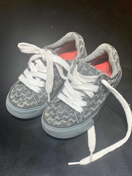 Zapatillas Disney Para Niño Talle 1.